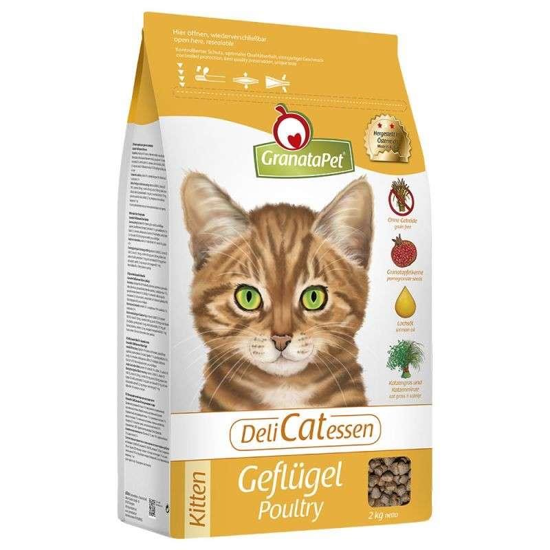 DeliCatessen Geflügel Kitten von GranataPet 400 g, 2 kg, 10 kg bei Zoobio.at