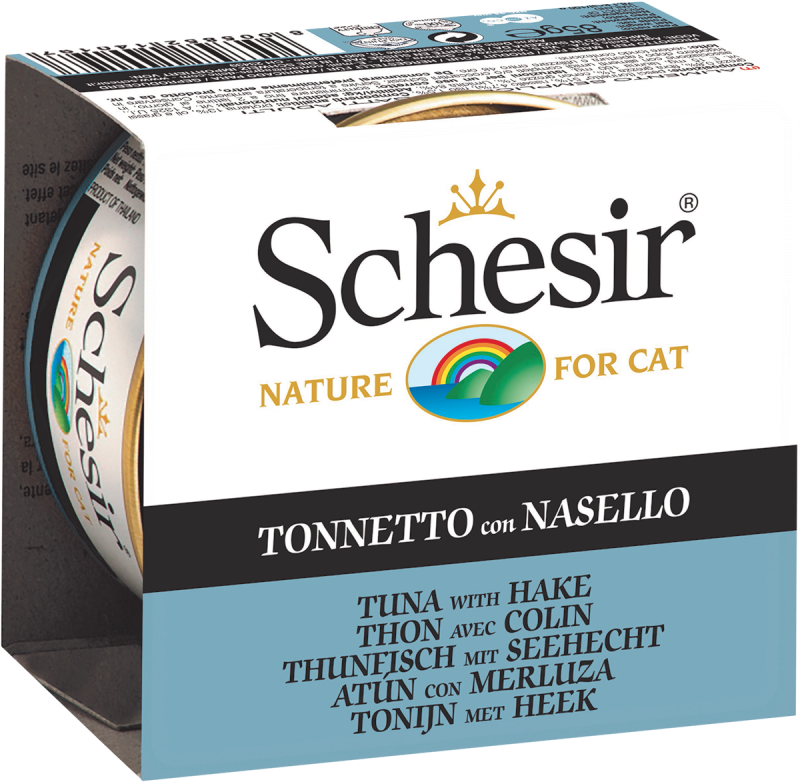 Schesir Tuna with Hake in Jelly 85 g