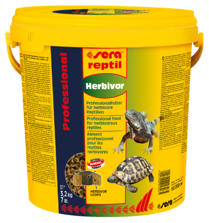 Sera Reptil Herbívoro Profesional  3.2 kg