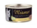 Miamor Feine Filets Naturelle - Thun & Lachs 80 g