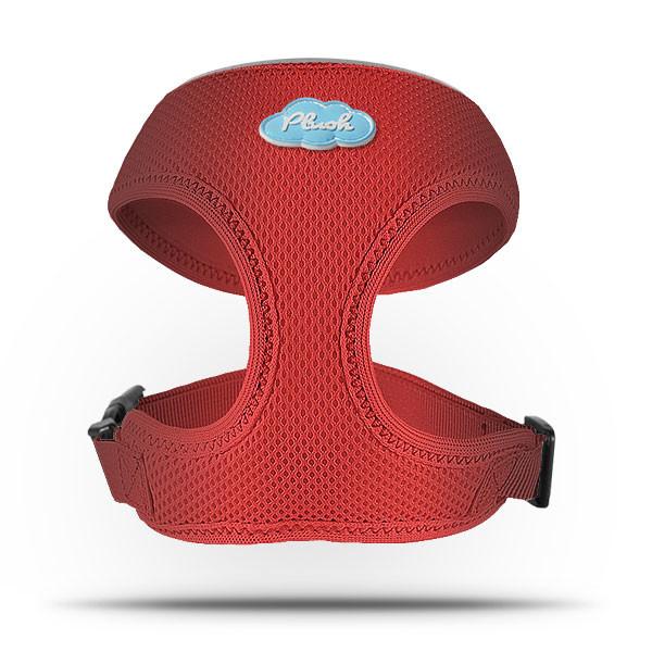 Curli Harness Basic Air-Mesh Red  M Röd