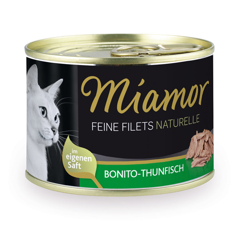 Miamor Feine Filets naturelle - Bonito-Atún 156 g
