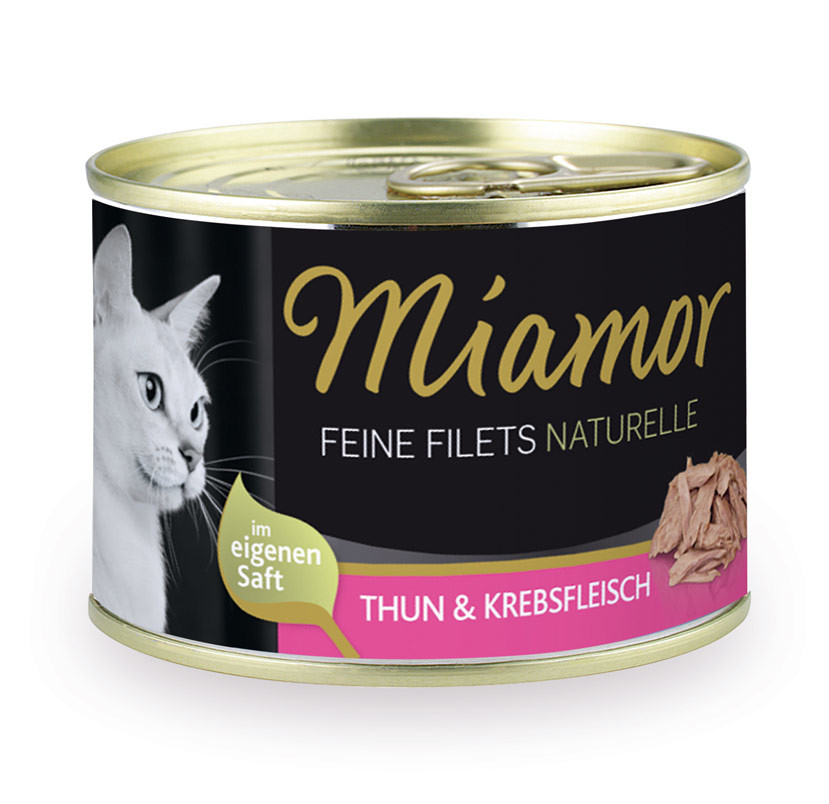 Miamor Feine Filets Naturelle - Tuna & Crabs 156 g