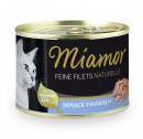 Miamor Feine Filets Naturelle - Skipjack-Thunfisch 156 g