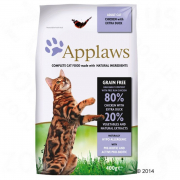 Applaws Adult - poulet et extra canard pour chat 400 g