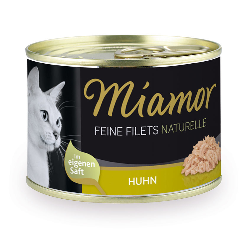 Miamor Feine Filets Naturelle - Pollo 80 g, 156 g prueba