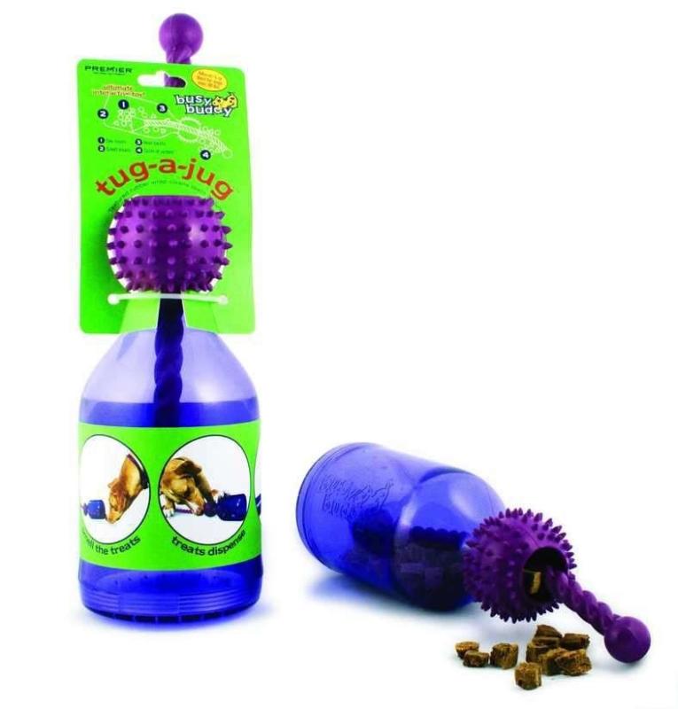 Busy Buddy Tug a-jug XS  af PetSafe køb rimeligt og favoribelt med rabat