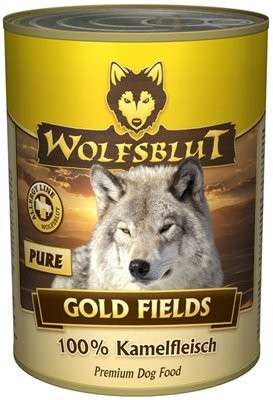 Wolfsblut Gold Fields Pure 100% Kameel vlees 395 g