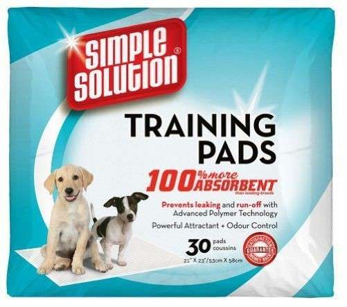 Simple Solution Puppy Training Pads  test