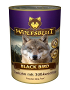 Black Bird Turkey with sweet potatoes 395 g fra Wolfsblut