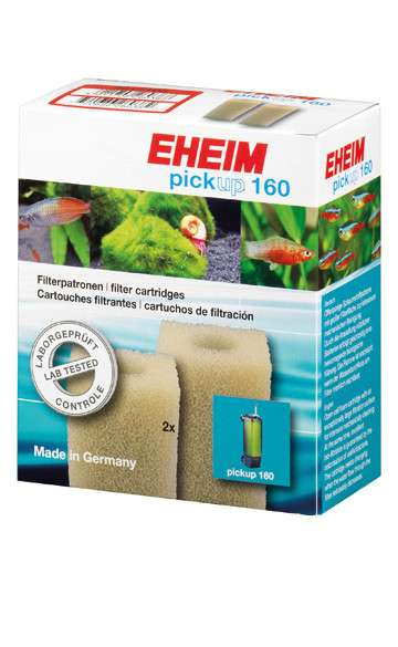 Eheim Filter cartridges for internal filter 150 (2 pieces)  160