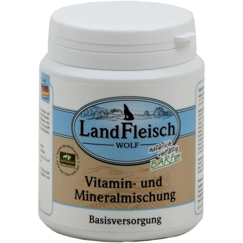 Landfleisch Wolf Vitamine-Mineraal Mengsel 400 g, 120 g