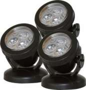 Underwater Lighting Set LED Pond P3 white