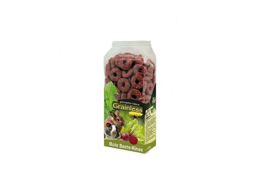 Grainless Rote Beete - Ringe von JR Farm 100 g online günstig kaufen