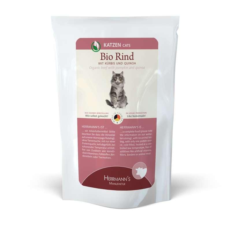 Herrmann's  Bio-Rund met Pompoen en Quinoa, Zakje 100 g
