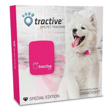 TRACTIVE GPS Special Edition con cristales de Swarovski