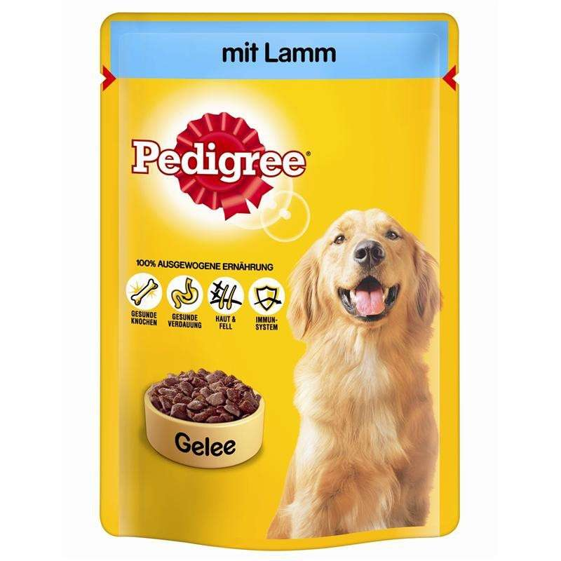 Pedigree Pouch Lamb in jelly 100 g, 24x100 g