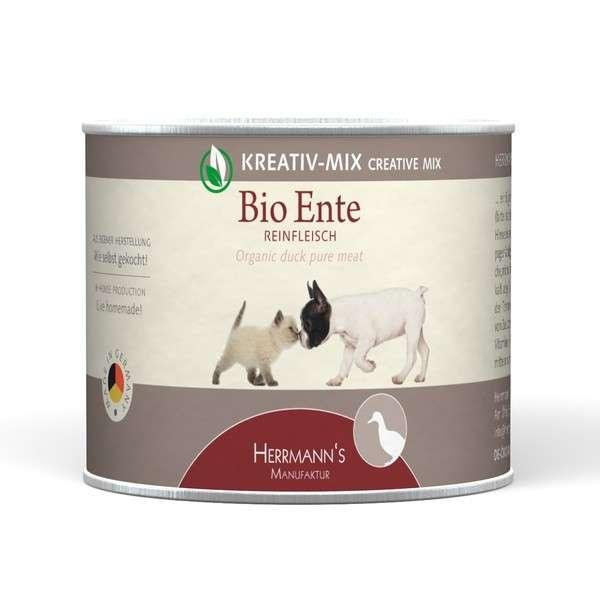 Herrmann's  Kreativ-Mix Bio Eend Puur in Blikje 200 g, 400 g, 800 g, 100 g