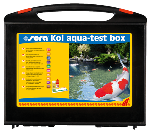 Sera KOI Aqua-Test Box EAN: 4001942077156 reviews