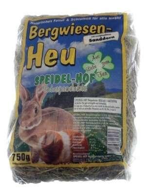 Speidel-Hof Bergwiesen-Heu mit Löwenzahn 750 g