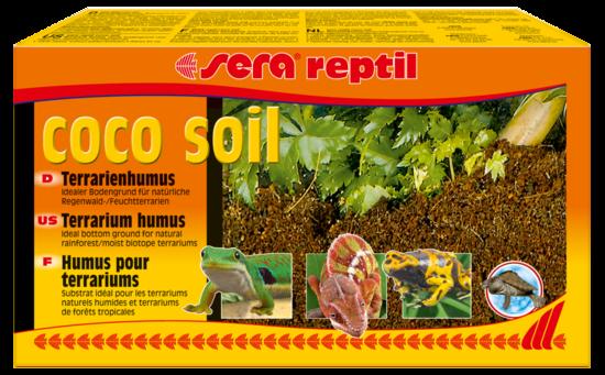 Réptil Coco Soil (Bolsas 8 Litros)   da Sera Compre a bom preço com desconto
