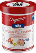 Pellets Fischfutter Söll Organix  -MSC Super Colour Pellets Micro 270ml