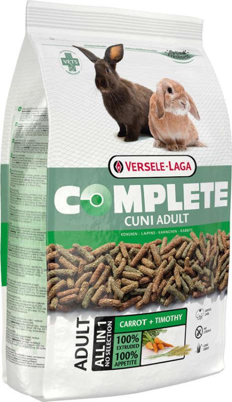 Versele Laga Complete Cuni Adult para Conejos 8 kg, 500 g, 1.75 kg