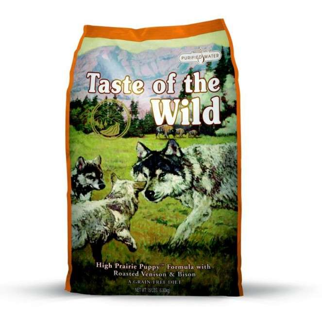 Taste of the Wild High Prairie Puppy 2.27 kg, 13.6 kg