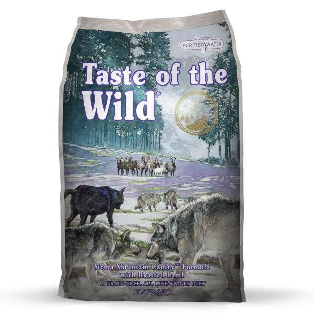 Taste of the Wild Sierra Mountain 2.27 kg, 13.60 kg