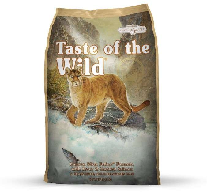 Taste of the Wild Canyon River 6.8 kg, 2.27 kg