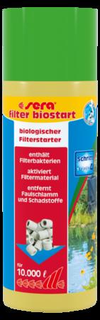 Sera Pond filter biostart 250 ml  met korting aantrekkelijk en goedkoop kopen
