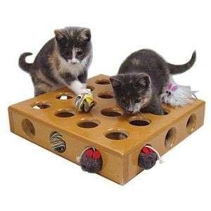 Starmark Peek A Prize Giochi Per Gatti Marrone Giochi Di Strategia