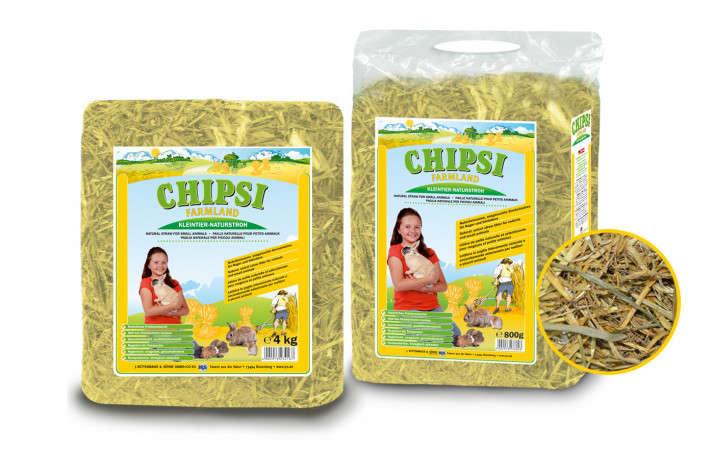 Chipsi Farmland Straw 4 kg  kjøp billig med rabatt