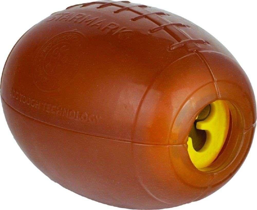 StarMark Treat Dispensing Football Large 12x8 cm