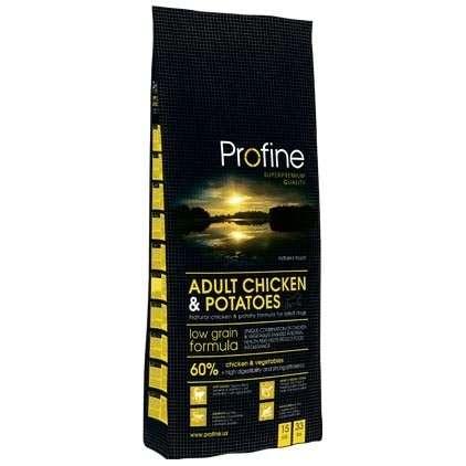 profine poulet pommes de terre adult 15 kg croquettes. Black Bedroom Furniture Sets. Home Design Ideas