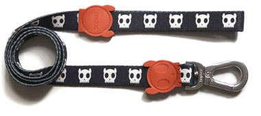 Zee.Dog Leash Skull S  kjøp billig med rabatt