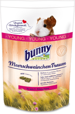 Bunny Nature CaviaDroom YOUNG 1 kg, 4 kg, 750 g