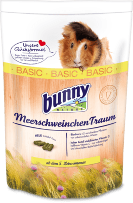 Bunny Nature CaviaDroom Basic 750 g, 4 kg, 1 kg