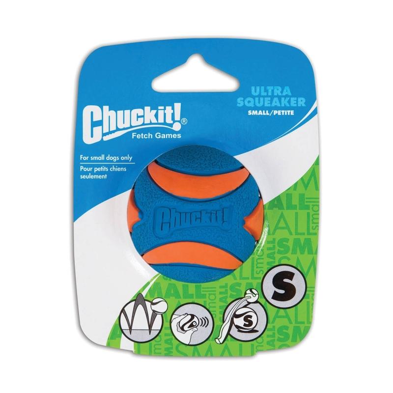 Chuckit! Ultra Squeaker Ball  S Azul