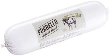 PURBELLO Dog sausage - Horse with beetroot and fennel 400 g