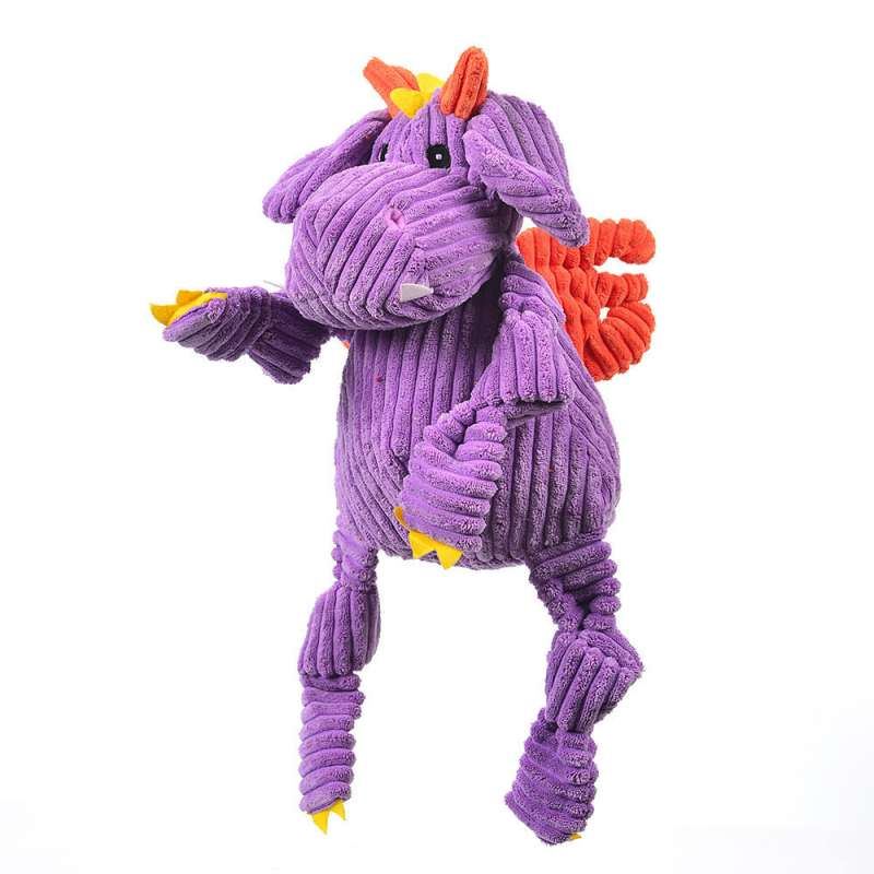 Hugglehounds Knottie Puff The Dragon Purple