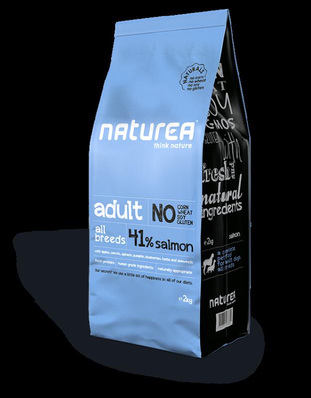 Naturea Naturals Adult Salmon 2 kg 5600775323905 ervaringen
