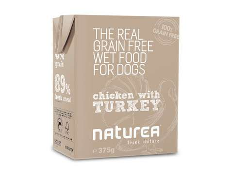 Naturea Grain Free Pollo y Pavo 375 g