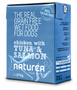 Naturea Grain Free Chicken With Tuna & Salmon 375 g