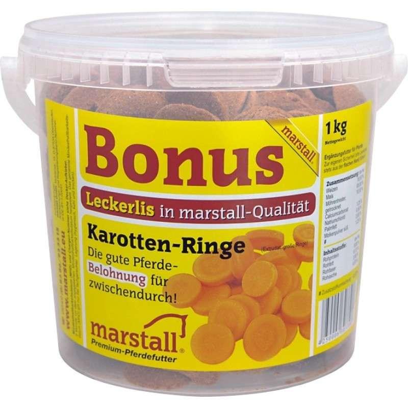 Marstall Bonus Karotten-Ringe (Carrot coins) 1 kg 4250006303308 ervaringen