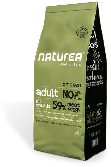 Naturea Naturals Adult Chicken 2 kg, 12 kg