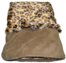 Fleece Pocket Bed Lysebrun