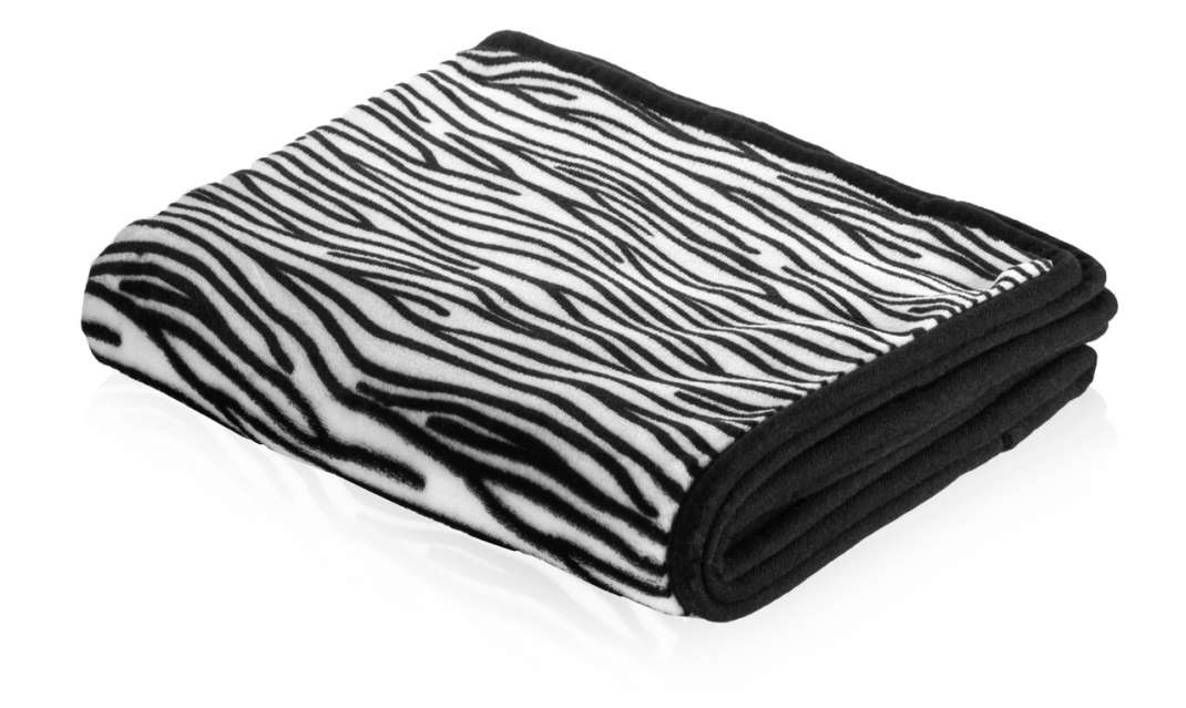 Smart Pet Love Snuggle Dog Blanket  Zebra  122x81 cm