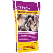 Marstall Force Mineral feed Ravintolisät hevosille   huippumerkkilaatua kohtuuhintaan!