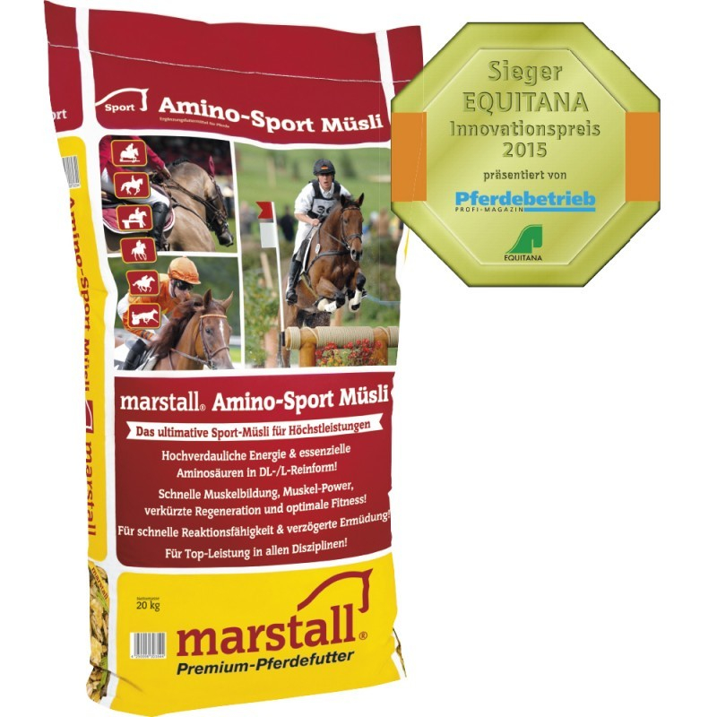 Marstall Amino-Sport Muesli EAN: 4250006303544 reviews